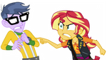 Sunset Lashing Out On Micro Chips by LoneBoy48