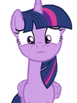 Twilight Sparkle Surprised by LoneBoy48