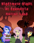 Nightmare Night At Equestria Horror Land Cover Art by LoneBoy48
