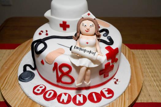 Nurse 18th Birthday Cake