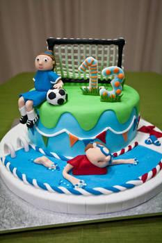 13th Birthday Cake Sport