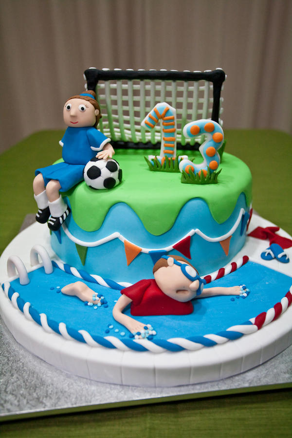 13th Birthday Cake Sport by 1the1 on DeviantArt