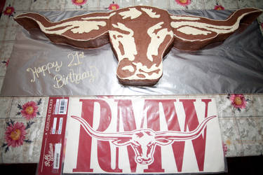RM Williams Longhorn 21st Cake by 1the1