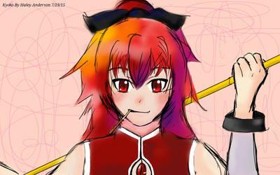 Kyoko Sakura by HaleyATheGreat