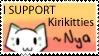 iSupport Kirikitties by StariTheKitten