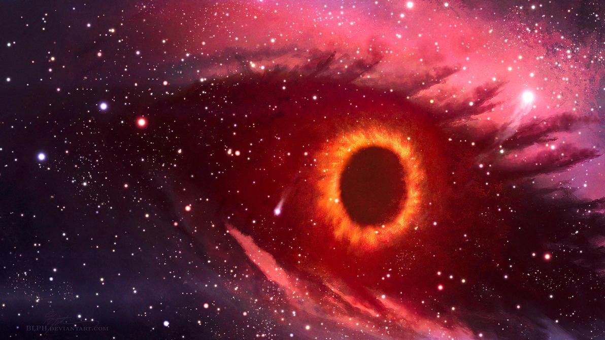 Black Hole Eye by BLPH