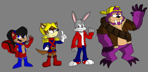 Sonic Odyssey- some Freedom Fighters