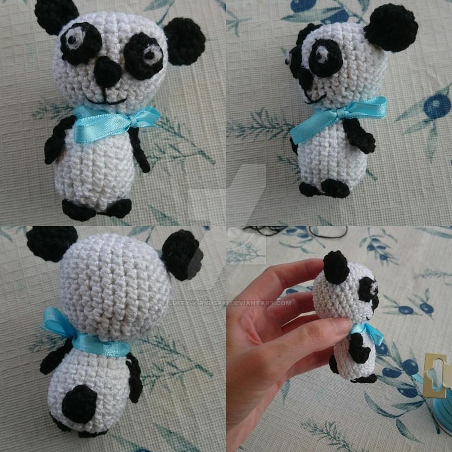 Panda Crochet by Luffy-x-Ryusaki