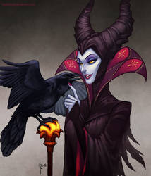Maleficent by fadedkind
