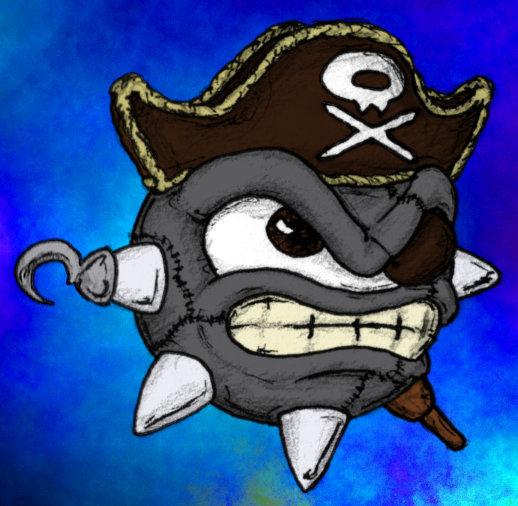 Captain Stitch is a Pirate