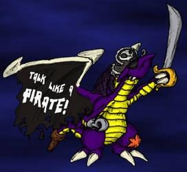 Talk Like A Pirate 'Hogg by RexRanarum