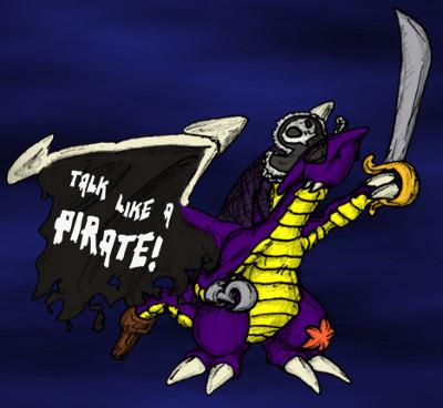Talk Like A Pirate 'Hogg