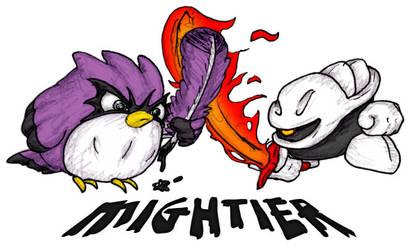 Mightier by RexRanarum