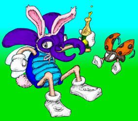 Easter Bugzzy by RexRanarum