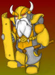 Dragon Dice: Dwarf Warlord