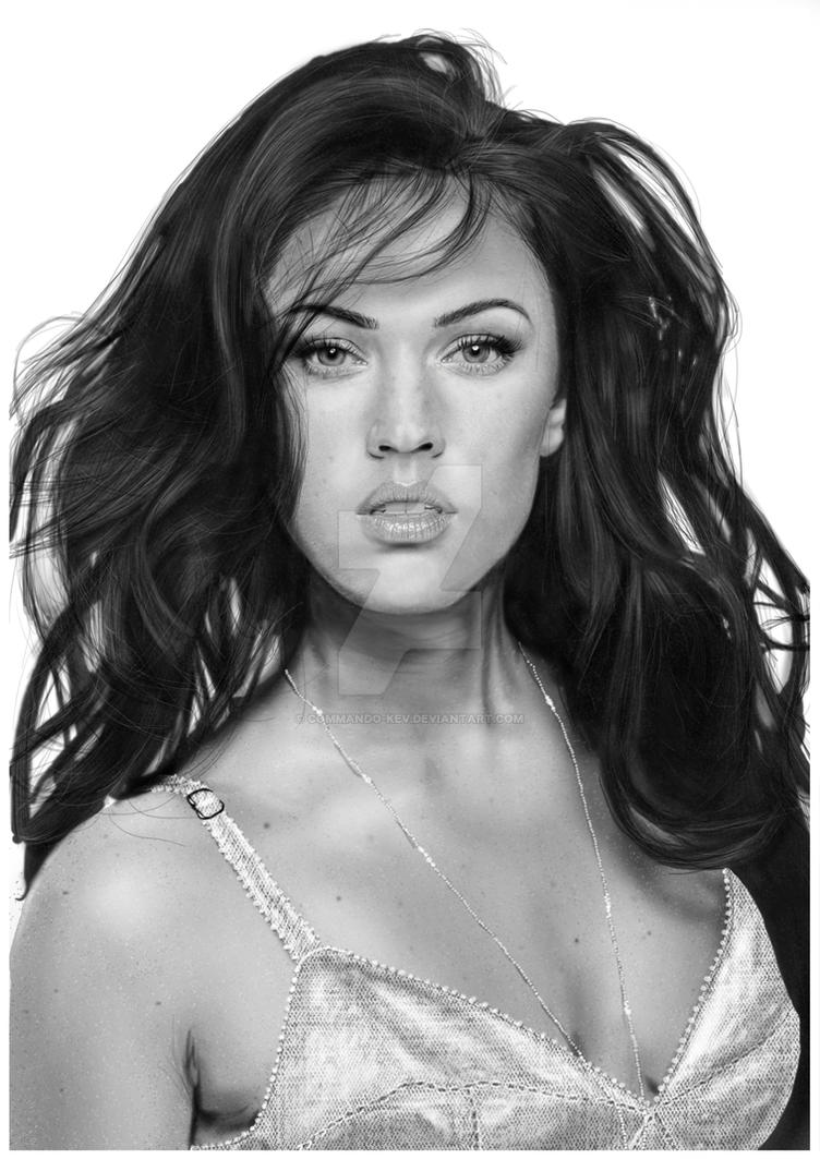 MEGAN FOX by commando-kev