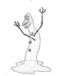 Olaf in the Summer by KRMi-e