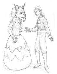 Beauty and the Beast by KRMi-e
