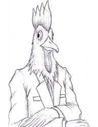 Rooster in a Jacket by KRMi-e