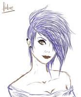 Sketchy Girl by fabricioxaviis