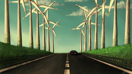 ~Autobahn + Speedpaint Video by UnicornCat