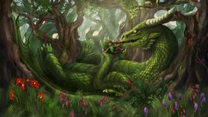 ~Magic Forest - Commission