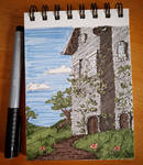 ~Sketch: Paint marker house