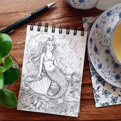 ~Mermaid sketch