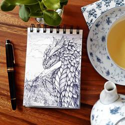 ~Ballpoint dragon