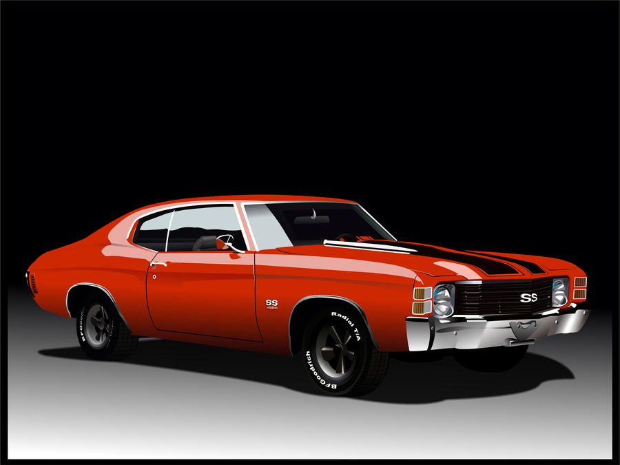 Chevrolet Chevelle SS 1971 by Snartistic on DeviantArt