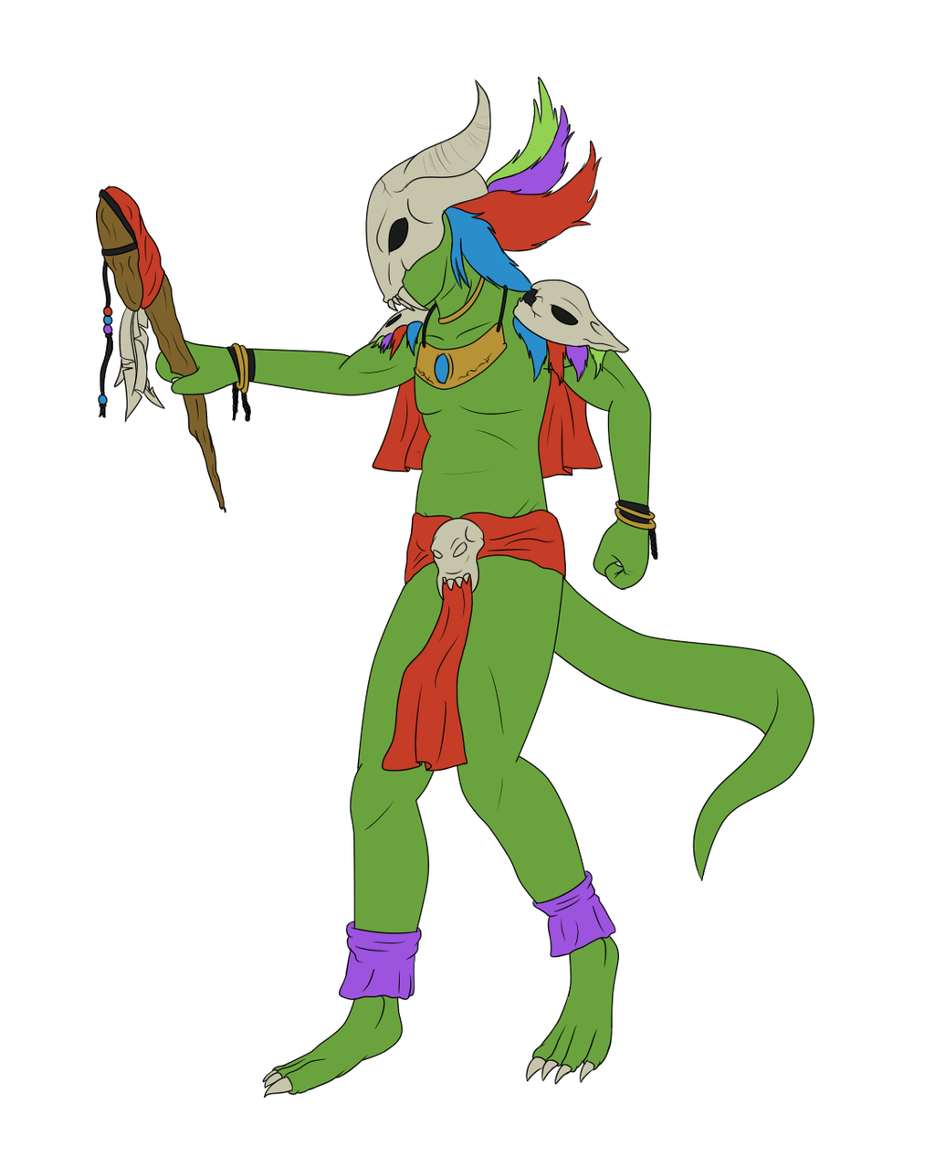 Witch Doctor By Pickle-Ranger On DeviantArt
