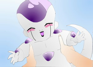 Baby Frieza by Queen Cold by The-Frieza-Fanclub