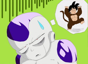 Stupid Monkey by Queen Cold by The-Frieza-Fanclub