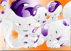 lord Frieza by Queen Cold by The-Frieza-Fanclub