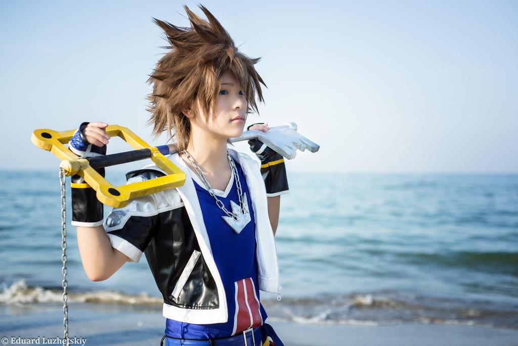 Kingdom Hearts - Sora! by EduardLuzhetskiy