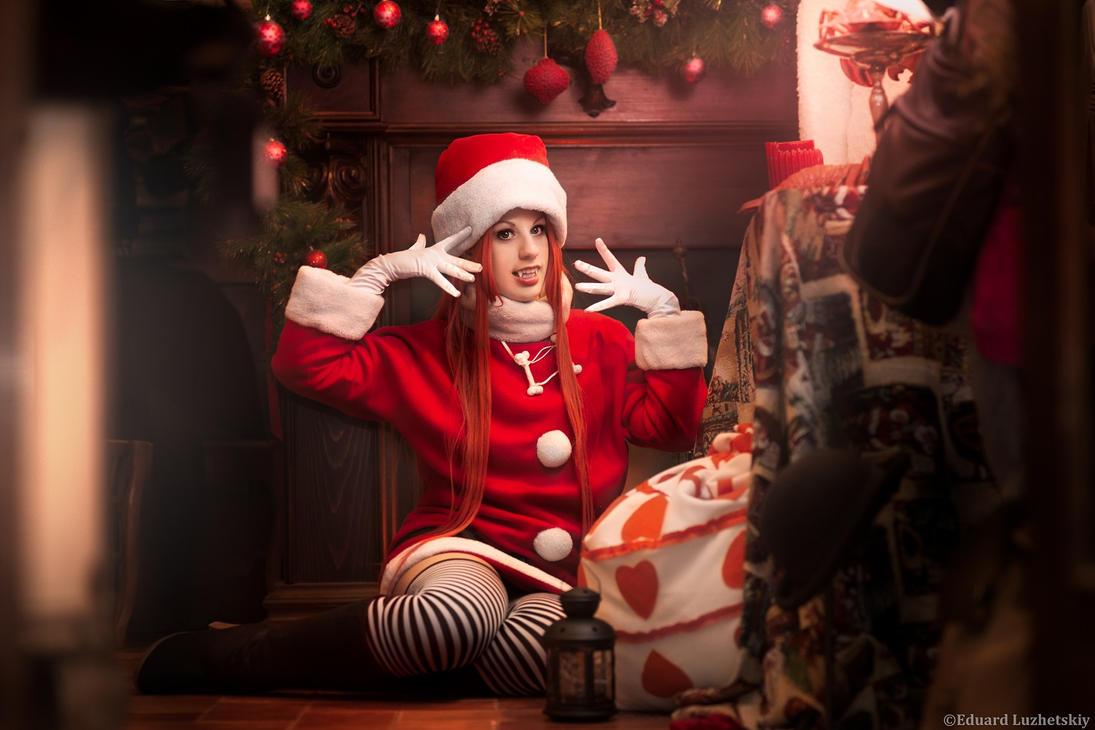 Chocola Meilleur Christmas ver - Sugar Sugar Rune by EduardLuzhetskiy