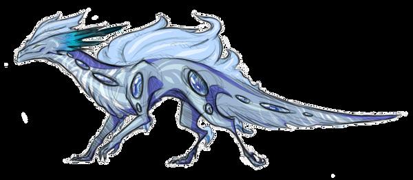 Gem Dragon- Blue Lace Agate by ilovecat1213