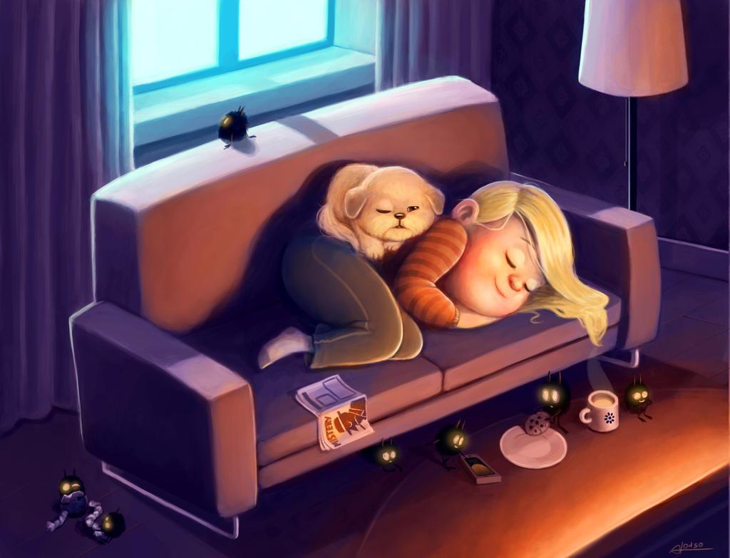 Nighty Night by denisalonso