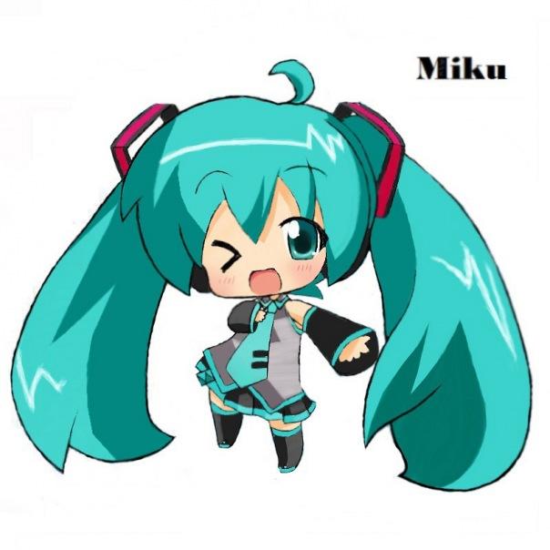 Hatsune miku chibi