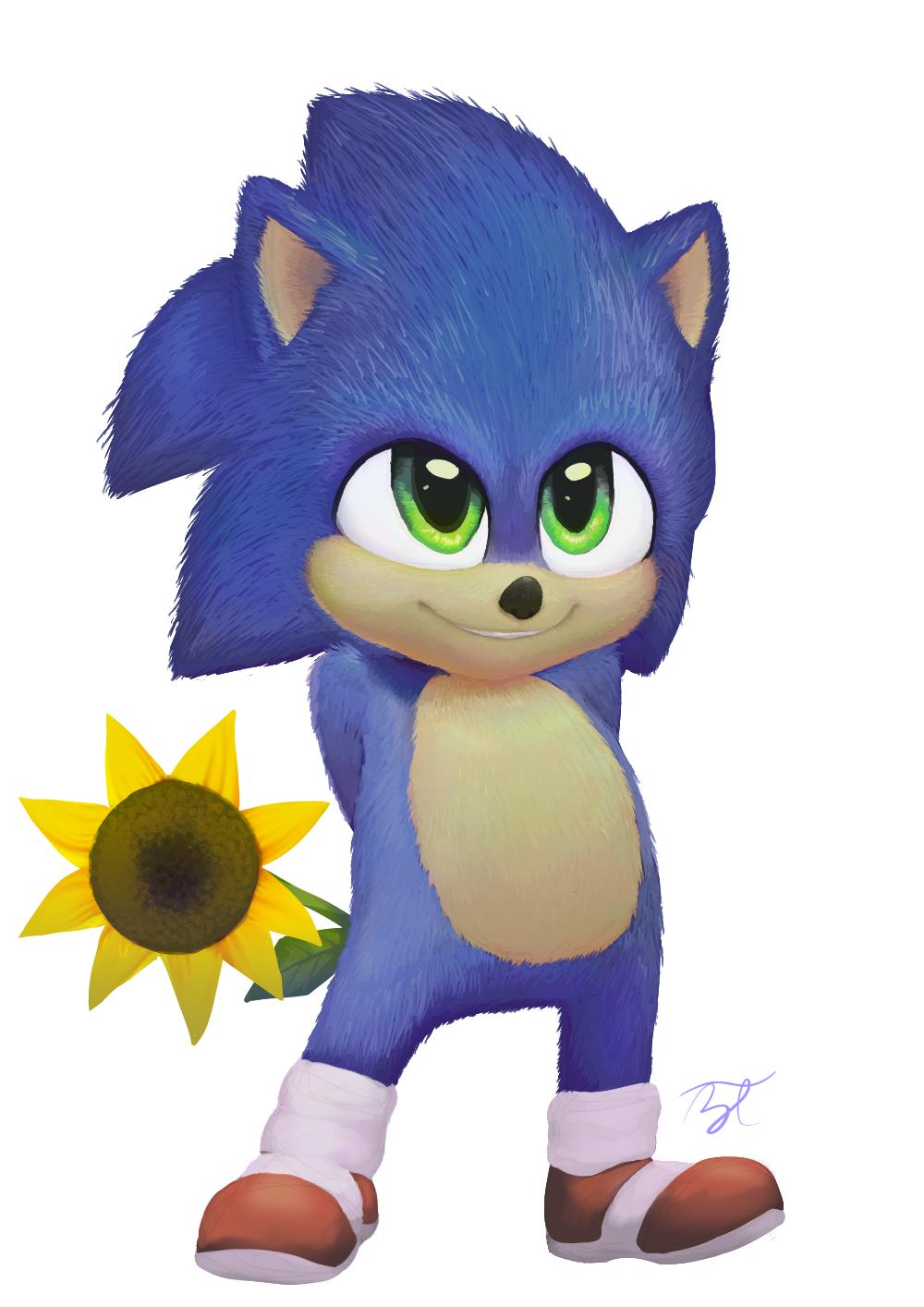Baby Sonic By Bluetarte On Deviantart