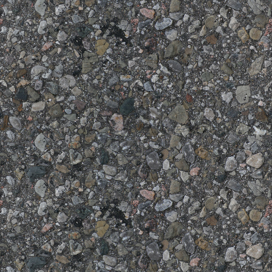 Seamless H+V Asphalt Texture Rocky