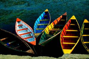 Nepali Boats by Jtrauben