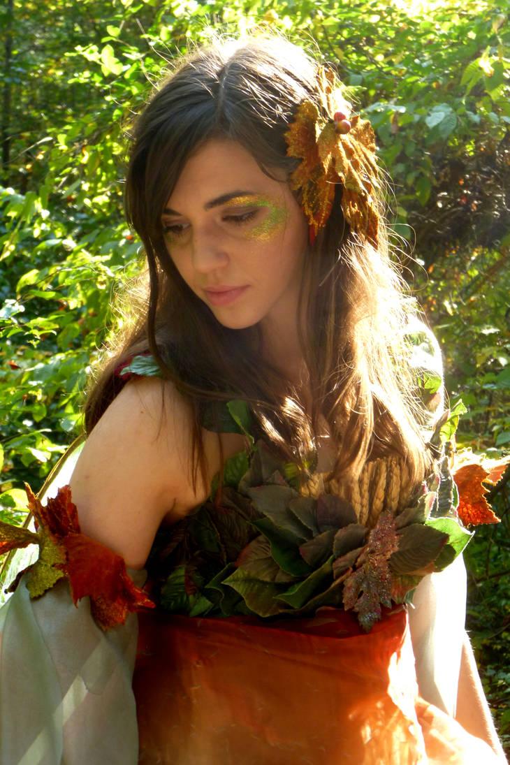 Fall Fairy Portrait 1 by Sitara-LeotaStock