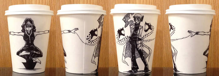 Medusa and Stien Coffee Cup