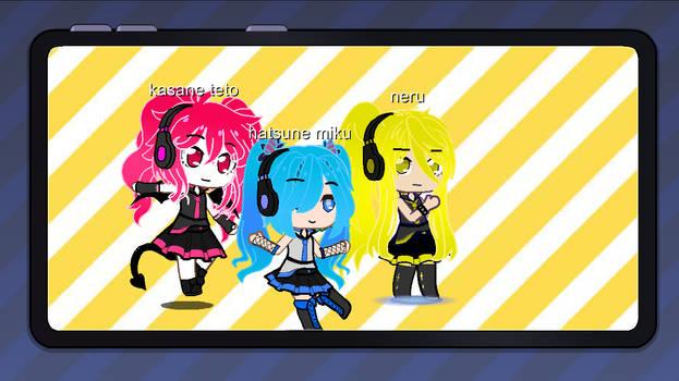 the triple baka squad in gacha club