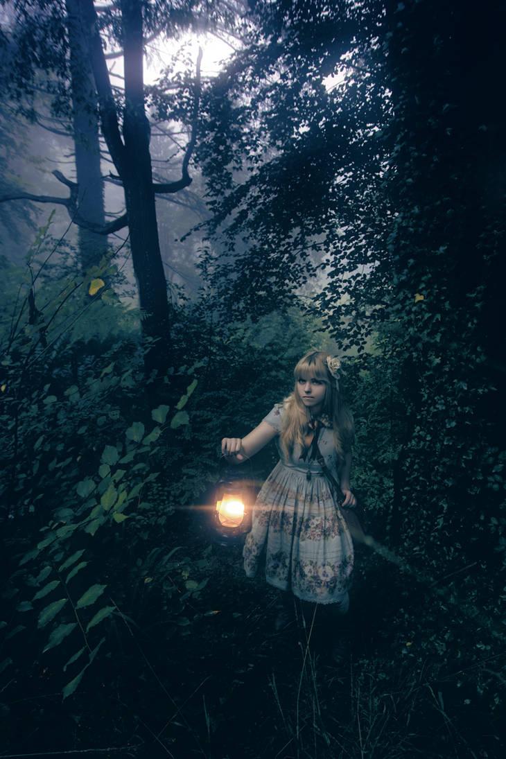 Juliette in the Forest II