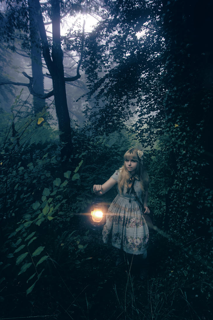 Juliette in the Forest II by ftsf
