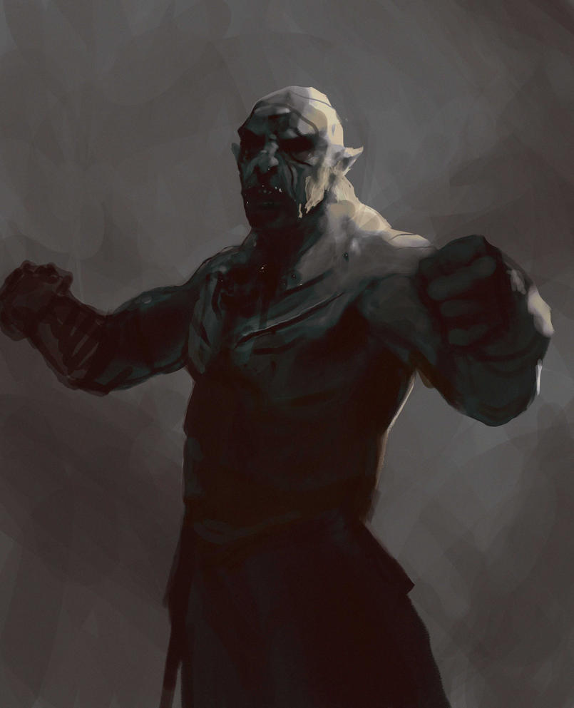 Speed - Azog the Defiler, The Pale Orc by LorenzoMastroianni