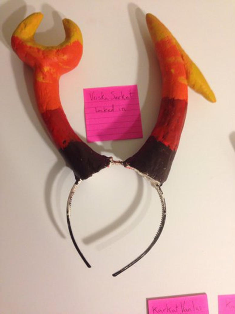 Troll horns- vriska  by Fish-Head-The-3rd