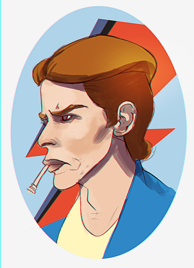 Bowie by ThinusvanRooyen